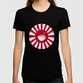 Ramen Queen Japanese Noodles Vintage Retro Style Japan Flag T-Shirt