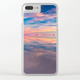 Salar de Uyuni Clear iPhone Case