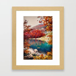 Bucolic Paradise Framed Art Print