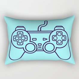Playstation 1 Controller - Retro Style! Rectangular Pillow