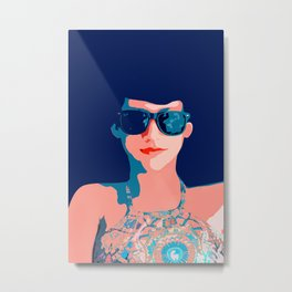 Vacay |V #society6 #decor #buyart Metal Print