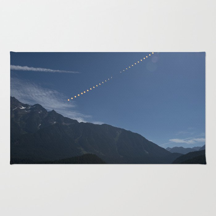 2017 Total Solar Eclipse Rug