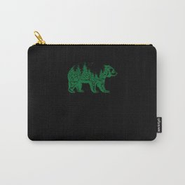 Bear Brown Bear Nature Carry-All Pouch