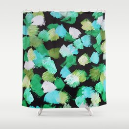 Abstract #2.2 - Petals Shower Curtain
