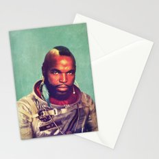 I ain't gettin on no rocket Stationery Cards