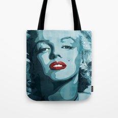 Brass Knuckle Marilyn Monroe Tote Bag