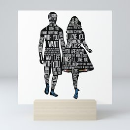 SELECTION QUOTES Mini Art Print