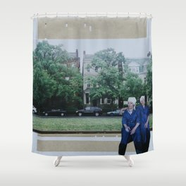 Laverne and Shirley Shower Curtain