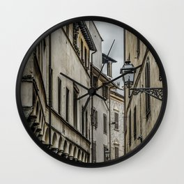 Houses at Historic Center of Florence, Italy Wall Clock