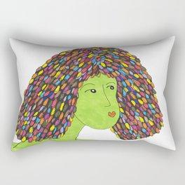 Grow Some Happy Rectangular Pillow