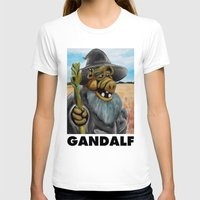 gandalf T-shirts featuring GANDALF by i live