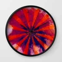 focus Wall Clocks featuring *Focus* by Mr and Mrs Quirynen