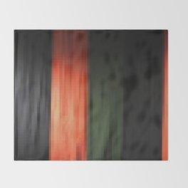 Janese kabuki drop curtain ~doncho~ Throw Blanket