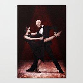 La Danza De La Muerte Canvas Print