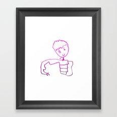The Little Prince   Elisavet first drawing Framed Art Print