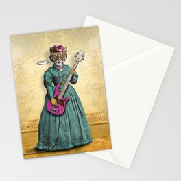 Tessy Tigress Shreds a Solo . . . Grrrrrr! Stationery Cards