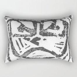Angry Rectangular Pillow