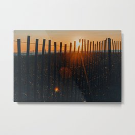 She Would See the Day Through to the End Metal Print