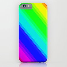 Brightly Coloured Stripes iPhone 6s Slim Case