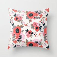 Dakota Floral Throw Pillow