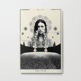 Fig. XVII - The Star Metal Print