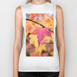 Autumn Still Biker Tank