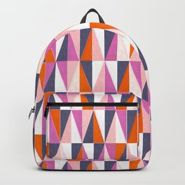 a harlequin party in pink! Backpack