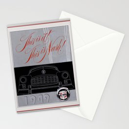 Automotive Art 115 Stationery Cards