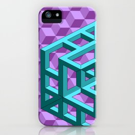 impossible patterns iPhone Case
