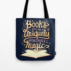 Books are magic Tote Bag