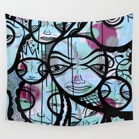 cabin Wall Tapestries featuring Cabin Fever by Jeff Claassen
