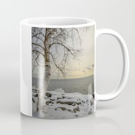 Curves of the Silver Birch by Teresa Thompson Coffee Mug