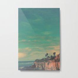 Cliff Side Metal Print