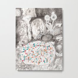 The Magical Pond Metal Print