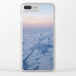 airplane window Clear iPhone Case