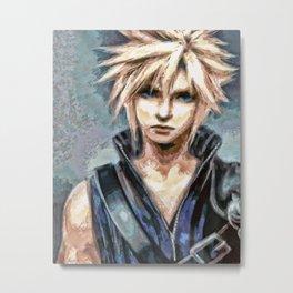 Cloud Strife Final Fantasy 7 Metal Print