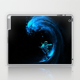 Space Surfing Laptop & iPad Skin