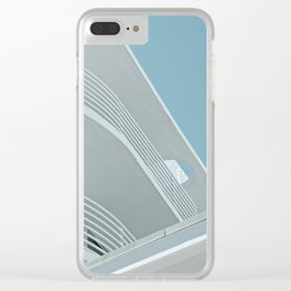 Art Deco Miami Beach #5 Clear iPhone Case