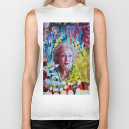 Betty White Biker Tank