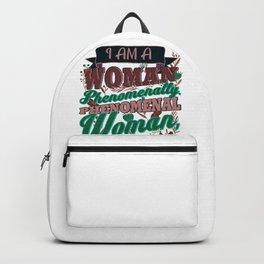 Women Empowerment Phenomenal Woman That's Me Backpack