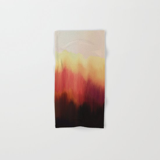 Forest Fire Hand & Bath Towel
