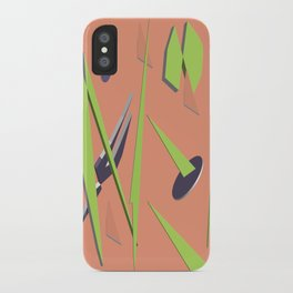 80s Shapes, Colors and Space iPhone Case