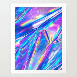 Just A Hologram Art Print