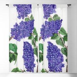Sweet Little Lilacs Blackout Curtain