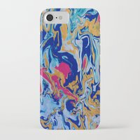 fringe iPhone & iPod Cases featuring fringe by Glint & Lime Art