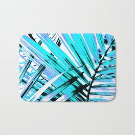 440 Neon Leaves Bath Mat