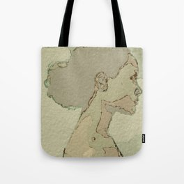 Neutral Colors Afro Tote Bag