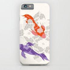 Purple and Orange Koi Slim Case iPhone 6s