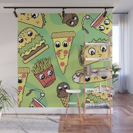 Snack Attack! Wall Mural