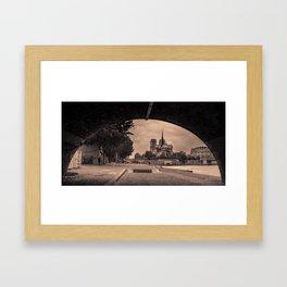 Paris Vibe Framed Art Print